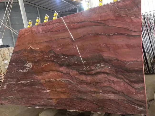 Large Slab of Polished Revolution Quartzite (3)