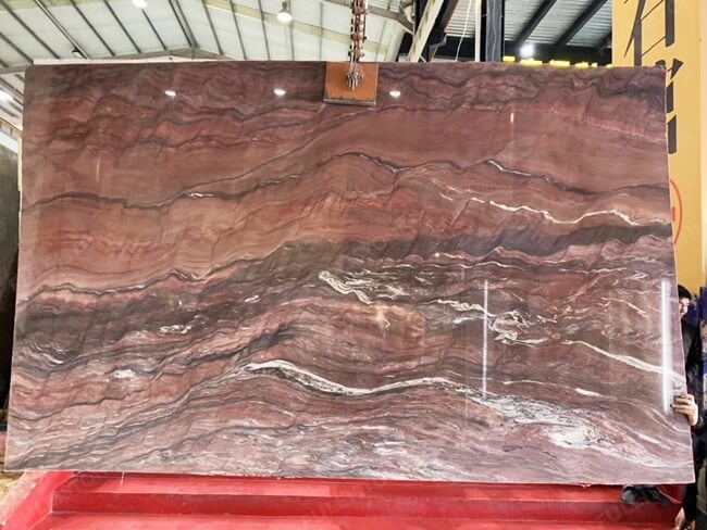 Large Slab of Polished Revolution Quartzite (4)