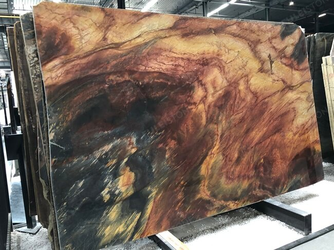 Polished Phoenix Quartzite Stone Slabs (3)