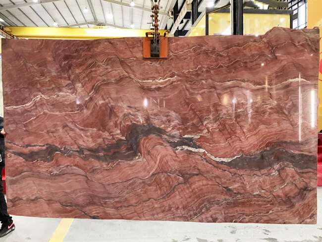 Polished Revolution Quartzite Slabs