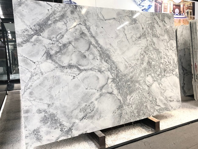 Polished Super White Marble Slabs (7)