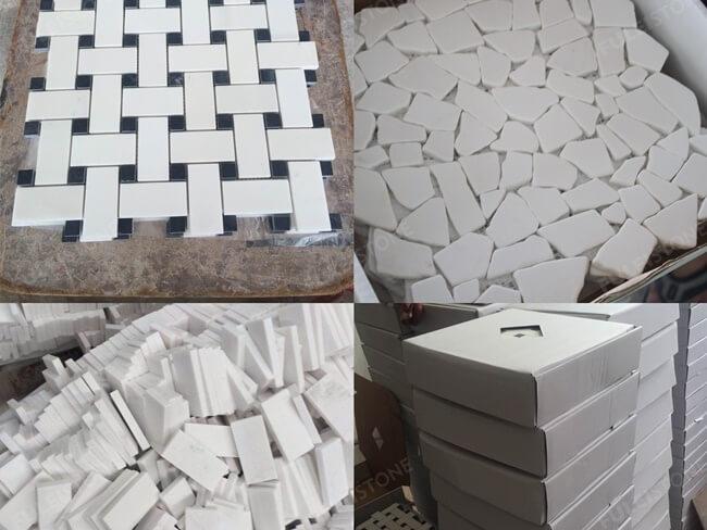 Premium Quality Bianco Sivec White Marble Slab