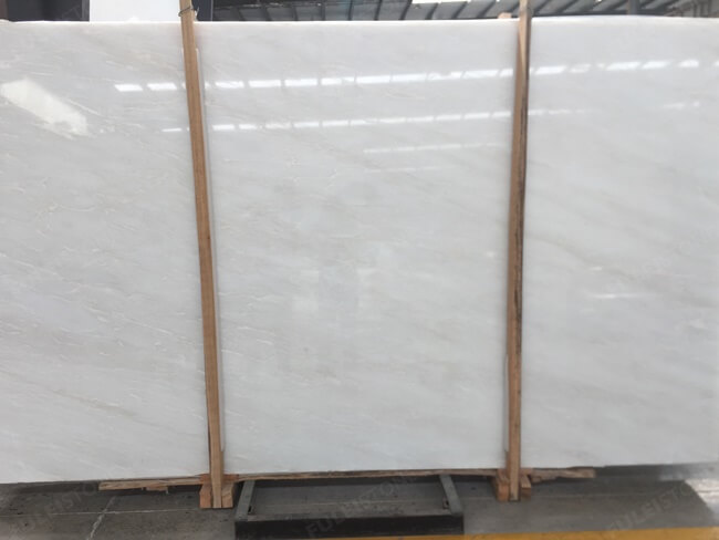 Bianco Rhino Marble Slab for Project