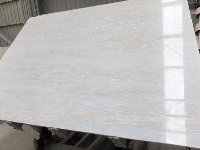 Bianco Rhino Marble Slabs Polished