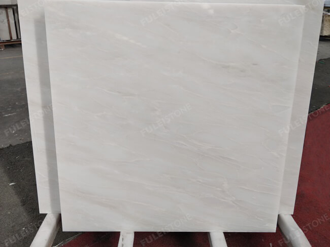Bianco Rhino Marble Tiles 1207x1207mm