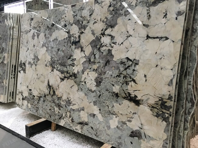 Brazilian Polished Alpinus granite slab (2)