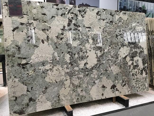 Brazilian Polished Alpinus granite slab (3)
