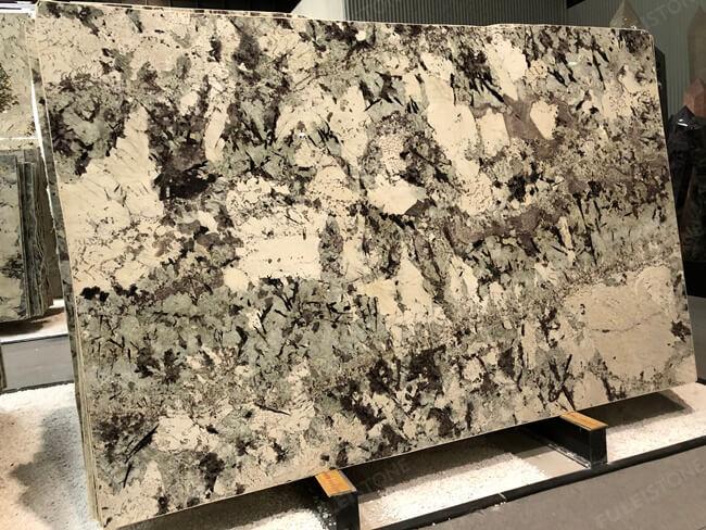 Brazilian Polished Alpinus granite slab (8)