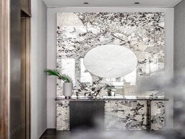 Polished Alpinus granite for wall (13)