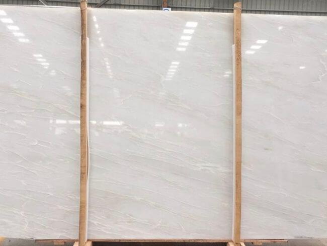 Premium Bianco Rhino Marble Slab