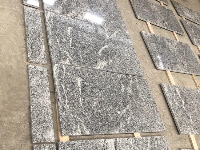 Viscon White Granite Countertops and Backsplashes