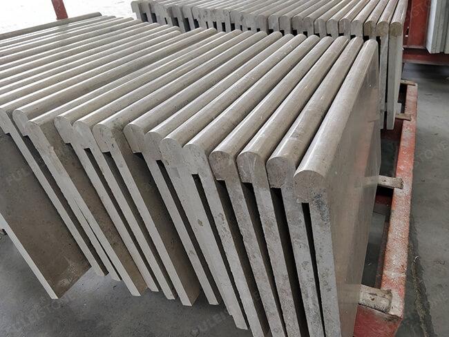 honed jura grey limestone pool coping (1)