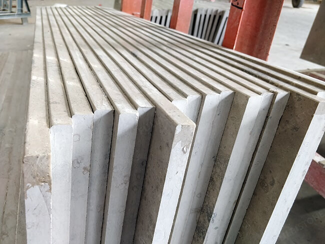 honed jura grey limestone stairs (1)