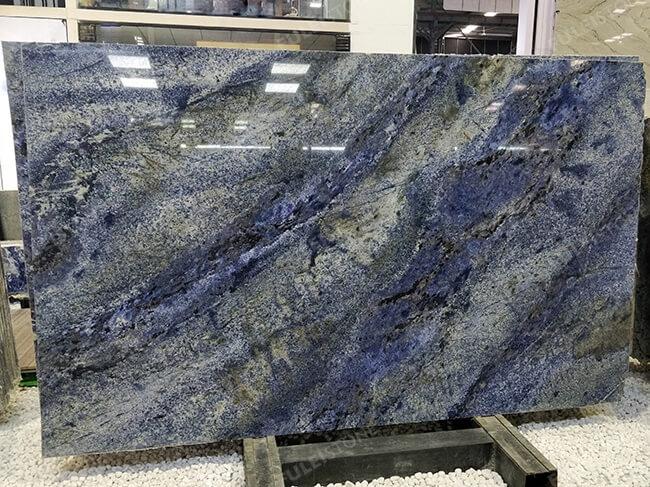 polished blue bahia granite slabs (3)