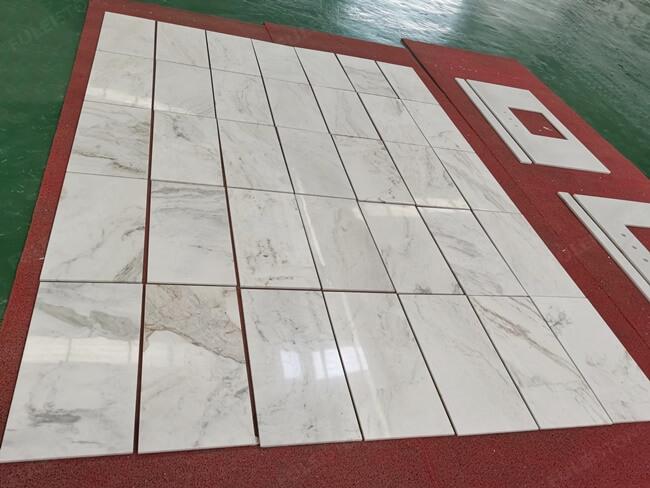 Arabescato Venato Marble Tiles and Vanity Tops