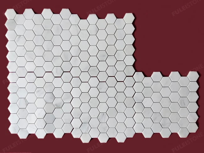 Asian Statuary Marble Mosaic Tiles