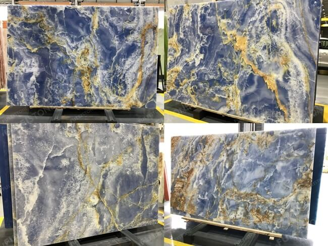Blue Onyx Slabs for Wholesale
