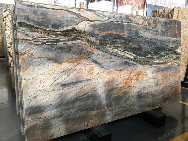 Natural Michelangelo Quartzite Slab