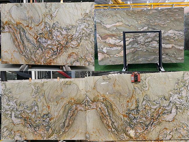New Fusion Quartzite Slabs 2021