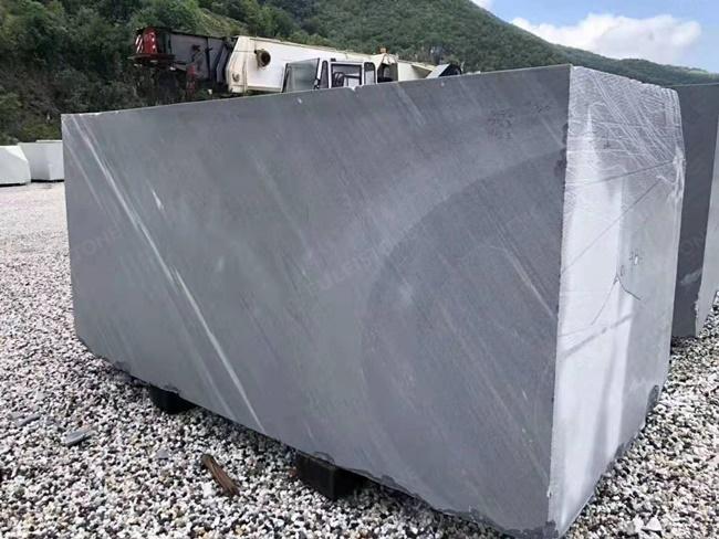bardiglio imperiale block in quarry