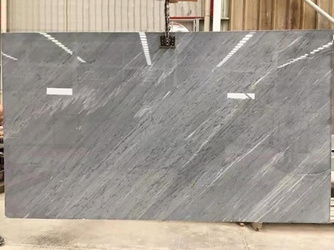 bardiglio imperiale light grey polished marble