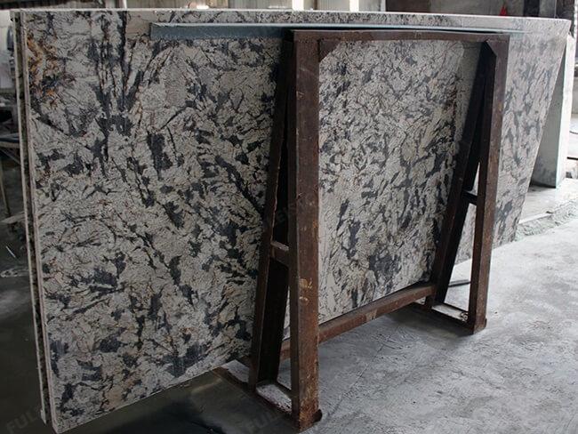 everest white granite kitchen countertops (4)