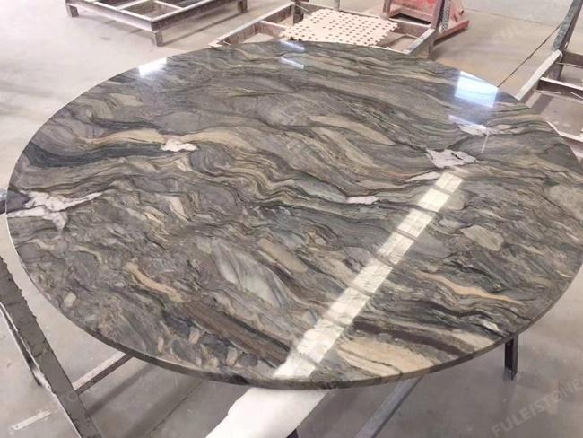 Blue Fusion quartzite table top