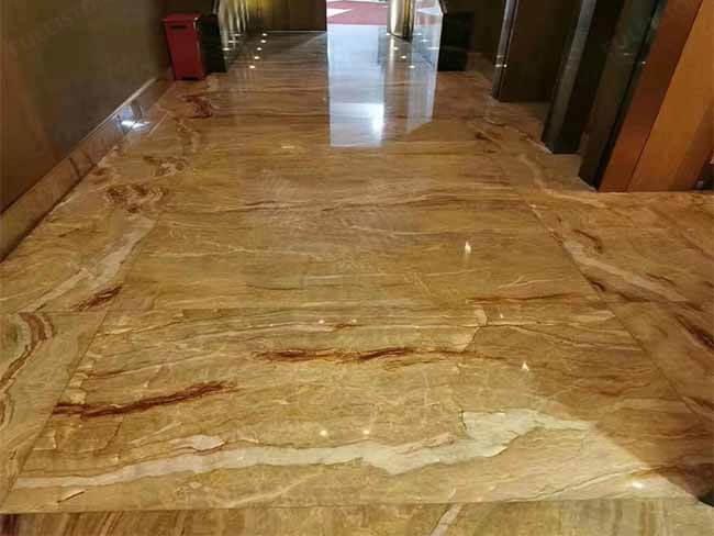 Brazilian Nacarado Quartzite slab for floor tile