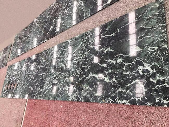 Customized Verde Alpi Marble Countertops