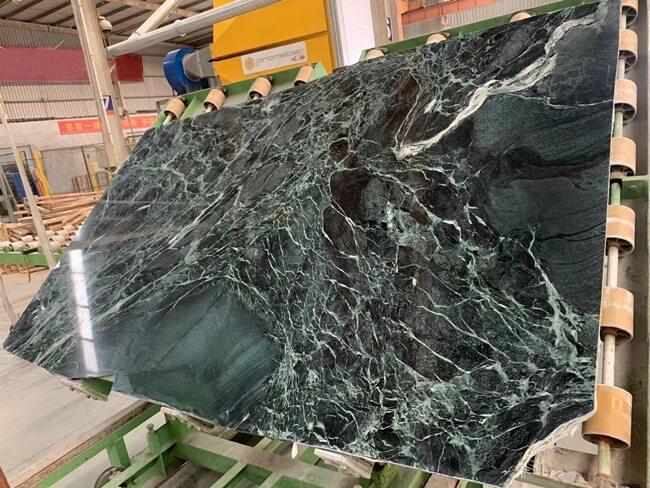 Verde Alpi Marble Slabs Polished