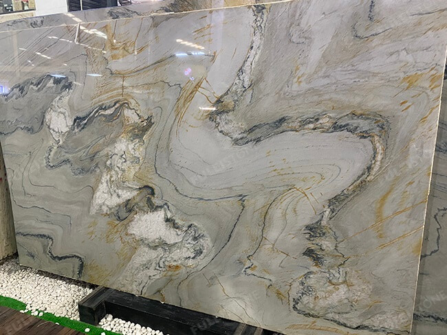 polished aquarella quartzite slabs (5)