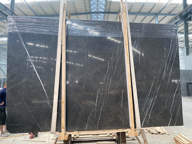polished pietra grigio marble slabs (1)