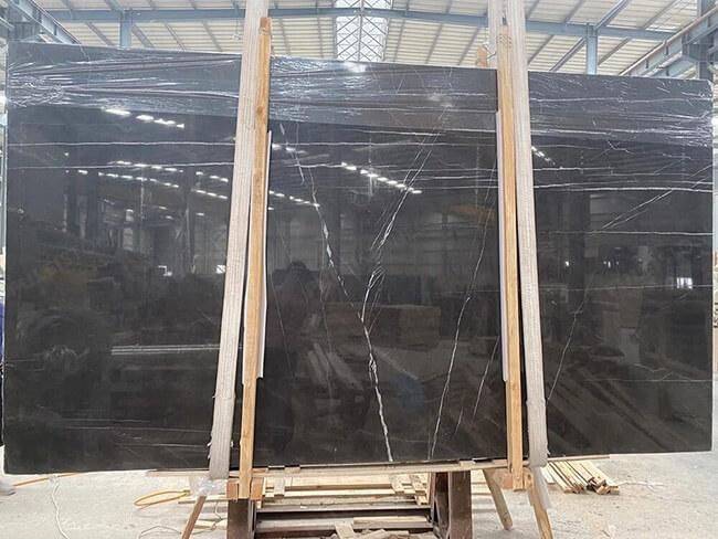 polished pietra grigio marble slabs (2)