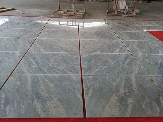 Brazilian Iceberg Blue Quartzite for floor tile