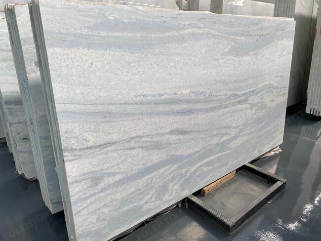 Natural Polished Iceberg Blue Quartzite