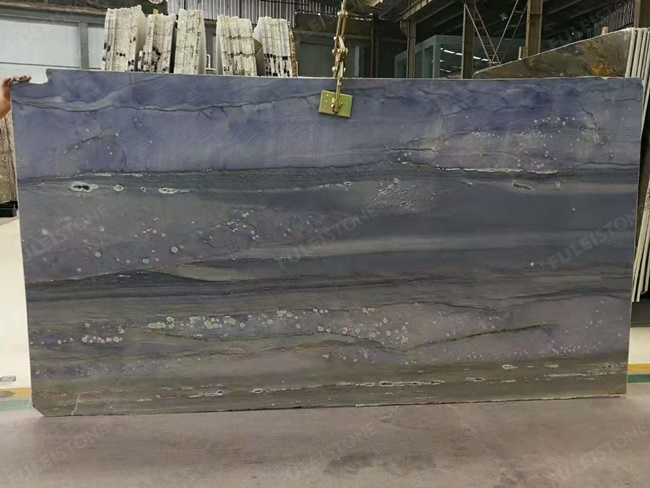 azul imperial medium color with spindrift