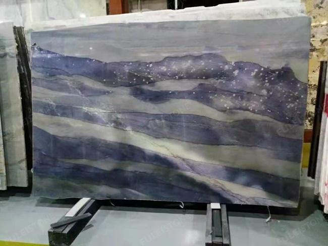 azul imperial quartzite in stock