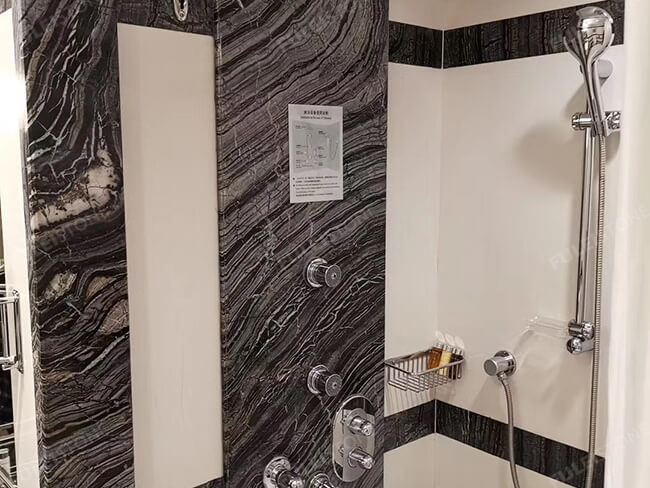 kenya black marble bathroom decoration