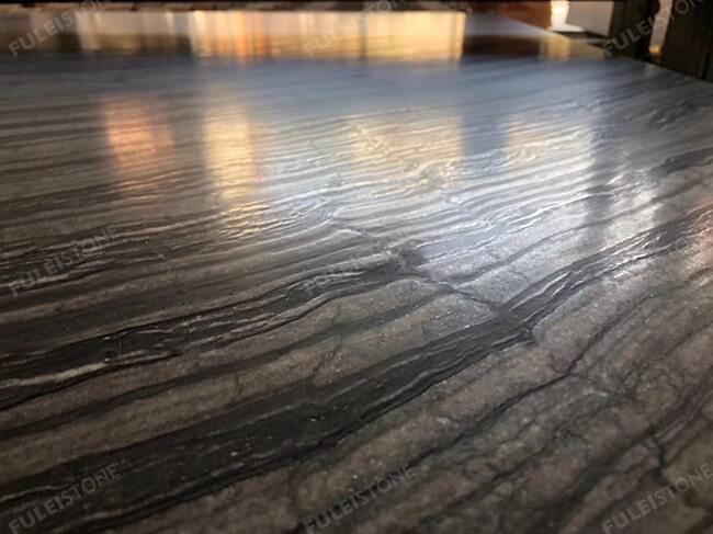 leather finish kenya black marble