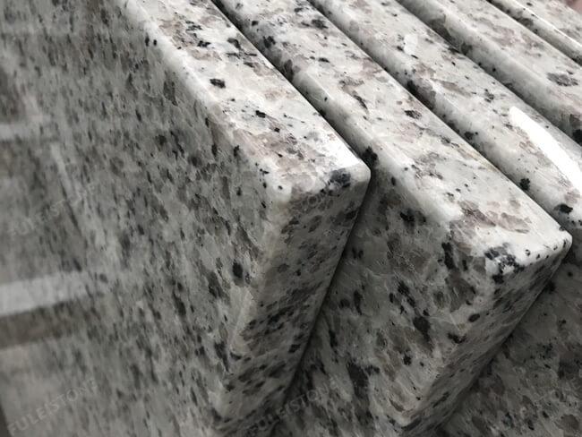 Bala White Granite Eased edge