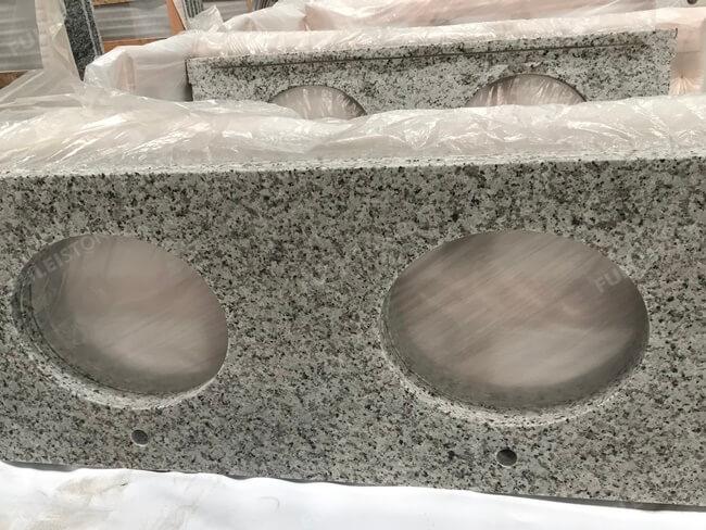 Bala White Granite Vanity Tops packing