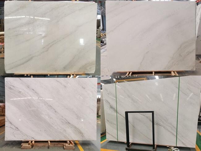 Bianco Orion Marble-Diagonal veinings