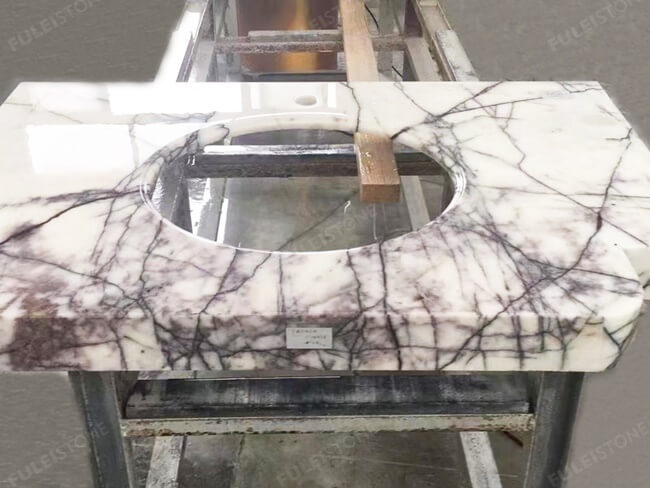 Lilac White Marble Vanity Tops (3)