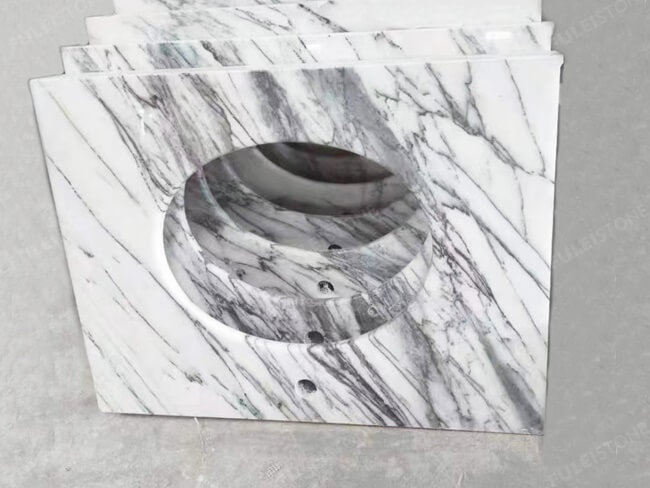 Lilac White Marble Vanity Tops (5)