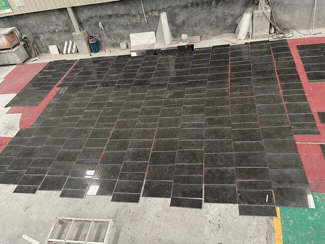 Pietra d` Avola Limestone Cut to Size and Dry Laying (2)