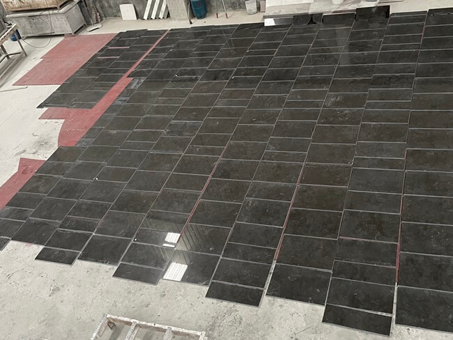 Pietra d` Avola Limestone Cut to Size and Dry Laying (3)