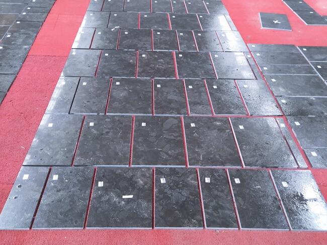 Pietra d` Avola Limestone Sealer Application (4)