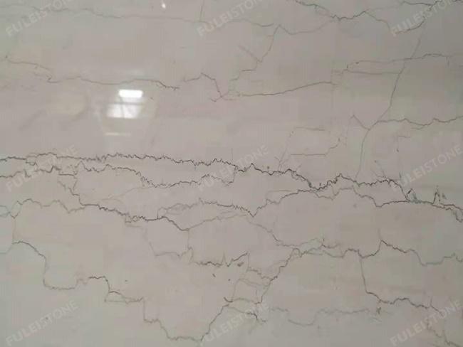 perlino bianco marble close-up