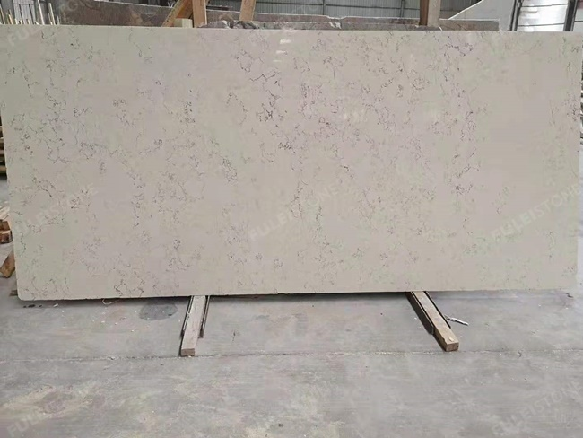 perlino bianco marble cross cut