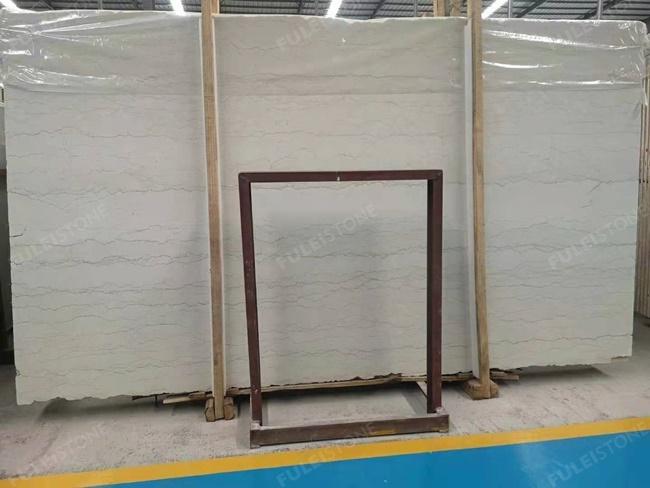 perlino bianco marble vein cut big slabs